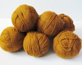 Destash Yarn Pumpkin Spice Yarn 7 Balls Yarn Sale Destash Yarn Copper Sky Knitting Worsted DIY
