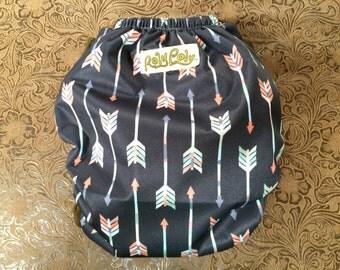 Pocket Diaper. One Size.  Arrow