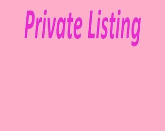 Private Listing for Stacie Somers