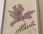Albert's Nylon Stockings Barefoot Seamless Pink Carnation
