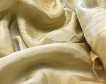 """Hand Dyed ECRU China Silk HABOTAI Fabric - 18""""x22"""""""