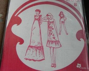 Vintage Lifestyle Misses Dress Pattern #3225 Sizes 6 thru 18, Uncut, 1970s