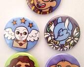 Boy Wizard Pin Set