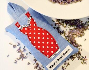 Best Dress Lavender Sachet - Red