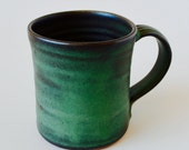 "Awesome Tea Mug - Handmade Stoneware Pottery Clay - Coffee Mug Tea Mug - 4"" x 3.5"" - Ready to Ship Today - RZG-IM-5"
