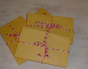 DOZEN SMALL ENVELOPES / coin envelopes / paper supplies / bulk envelopes / small envelopes / craft pocket envelope / scrapbook supplies /