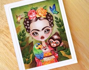 Frida Querida Die Cut Vinyl Sticker Decal