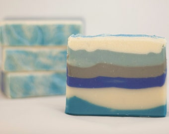 Sweet Opium Blue Cold Process Soap