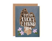 I'm So Lucky I Found You Illustrated Card//1canoe2