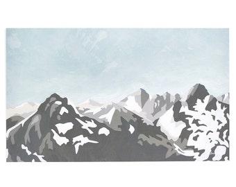 Mountains Art Print   12x20