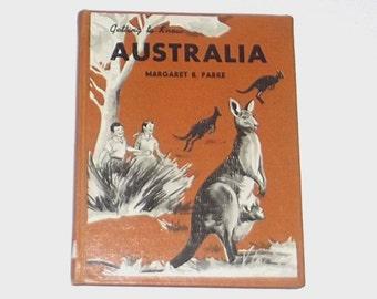 1960s travel book / 60s Australia book / Getting to Know Australia Book