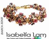 BARCA  Swarovski Set In Stones Beadwork Bracelet DIY Beading Kit Tutorial