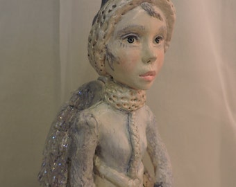 Folk Art Angel by Bonnie Jones