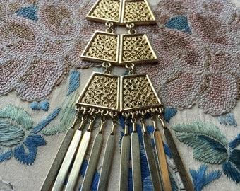 Boho Pagoda necklace