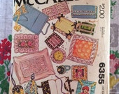 McCalls 6355 Carefree Gift Pattern 1978