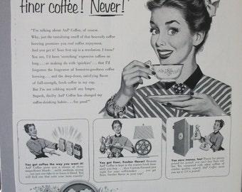 175 A&P  Coffee Ad  - 1953