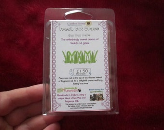 Fresh Cut Grass Scented Soy Wax Melts Pack
