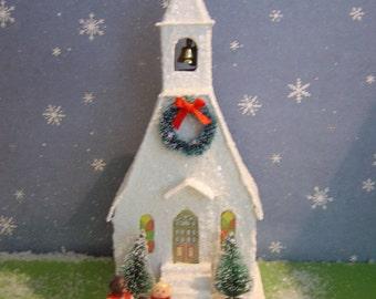 Christmas Village Putz Style Church