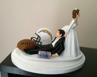 wedding cake topper san jose themed charger etsy 26378