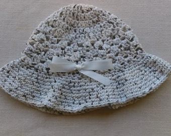 Crocheted Child's Sunhat