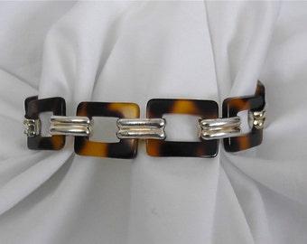 Vintage Tortoise Bracelet