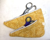 Scissor Cozy, Scissor Tote., Scissor Storage Bag, Scissor Caddy, Set of 2