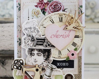Cherish...Handmade Card