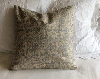 Nomad Swedish blue fabric decorative Pillow Cover 18x18 20x20 22x22 24x24 26x26