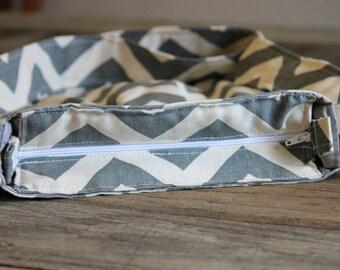 Add Zipper Closure for Sweet Daisy Handbags, Zipper Purse