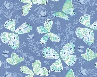 SALE Aria Water Butterfly Yardage SKU# 27230-26  -  1 Yard