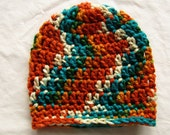 Crocheted Colorful Unisex Child's hat