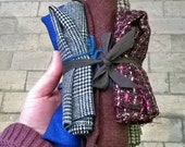 Woolen fabrics bundle