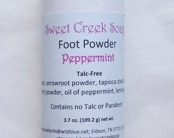 Foot Powder Peppermint