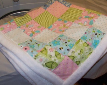 Quilt Soft Fleece and Pastels