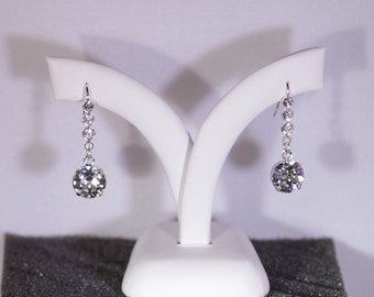 Swarovski Crystal Jewelry - Earrings -  Available in Several Swarovski Colors - Shown in Clear Crystal