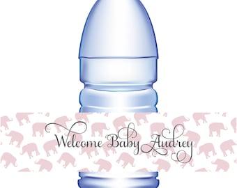 100 Custom Water Bottle Labels