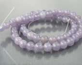 destash full strand 6mm round lepidolite