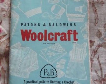 Knit One Purl One - Patons & Baldwins Woolcraft Booklet - 16th Edition - Knitting and Crochet