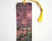 Shiba Reading Bookmark