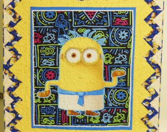 Minions Quilt / Egyptian Minions / Minions Movie Quilt / Minions / Minions Lap Quilt