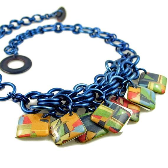 Comic-Con Inspired Modified Bib Necklace