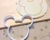 Mickey Mouse Cookie Cutter - Fondant Icing Cake Cupcake Topper Iced Sugar Cookies Biscuits Mould Kid's Birthday Tea Party Baby Shower Favors