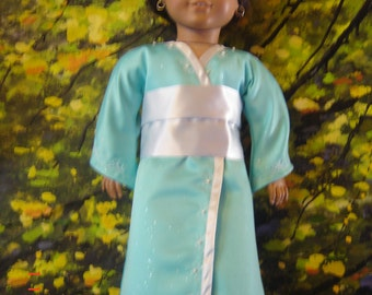 "JAPANESE KIMONO for 18 1/2""  dolls original by granmafran"