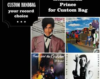 Prince Handbag Vintage Vinyl Record Repurpose