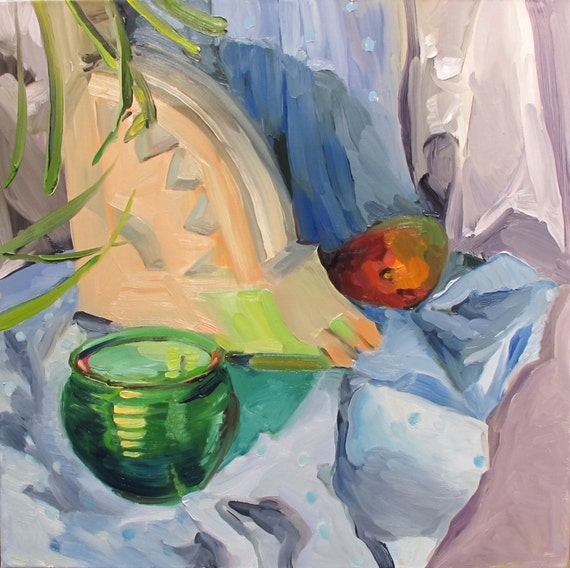 Nomad....a still life painting in oil by South Carolina artist Linda Hun