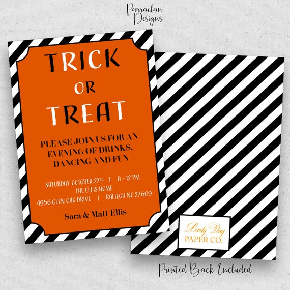 Halloween Party Invitation | Halloween Party Invitation Kids | Costume Party  | Dinner Party | Halloween {H01}