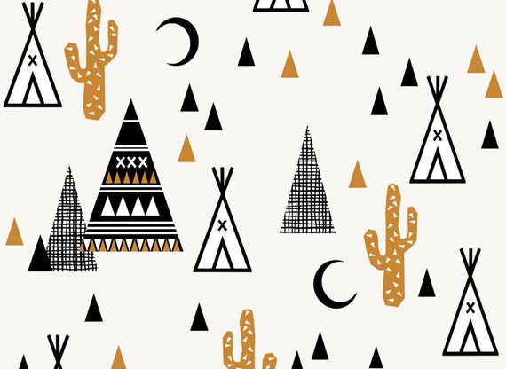 tipi fabric tipi sand southwest baby cactus teepee trendy. Black Bedroom Furniture Sets. Home Design Ideas