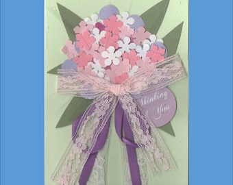 Just Because Card - Thinking of You Cards - 2 Variations -  free shipping US