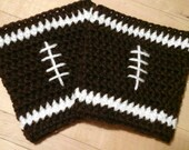 Football Cup Cozies,  Keep Hot Drinks Hot,  Keep Hands From Burning.  Great Father's Day Gift!  Customize for Favorite Team Also Available.