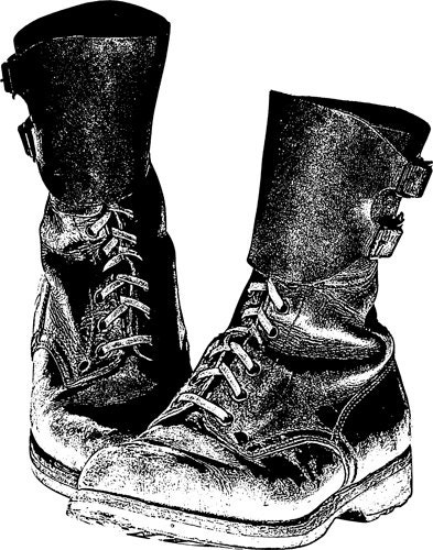 clipart of military boots - photo #9